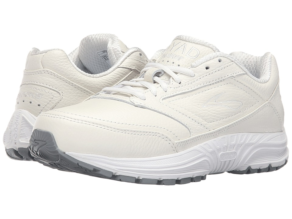 Brooks - Dyad Walker (White) Women's Running Shoes