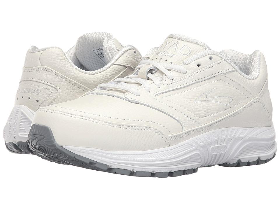 Brooks - Dyad Walker (White) Women's Running Shoes