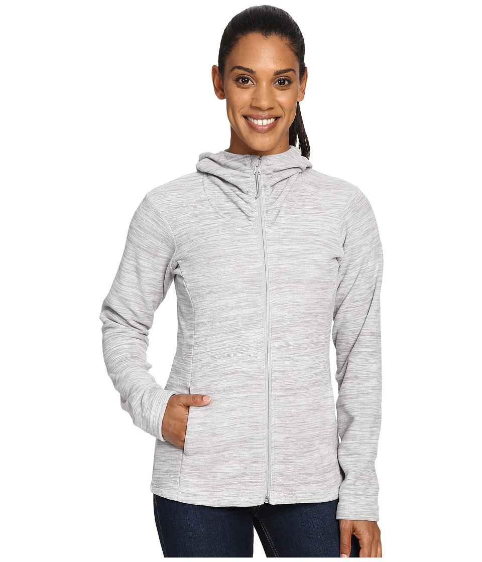 Mountain Hardwear - Snowpass Fleece Full Zip Hoodie (Heather Steam) Women's Sweatshirt