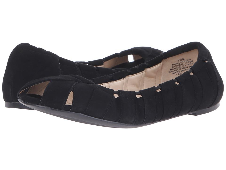 Nine West - Munchkin (Black Suede) Women's Shoes