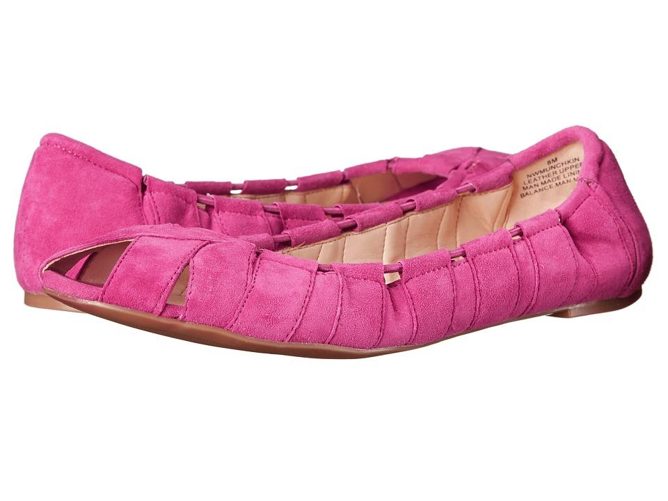 Nine West - Munchkin (Medium Pink Suede) Women's Shoes