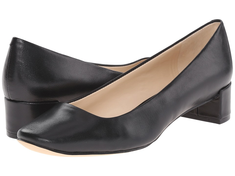 Nine West - Olencia (Black Leather) Women's Shoes