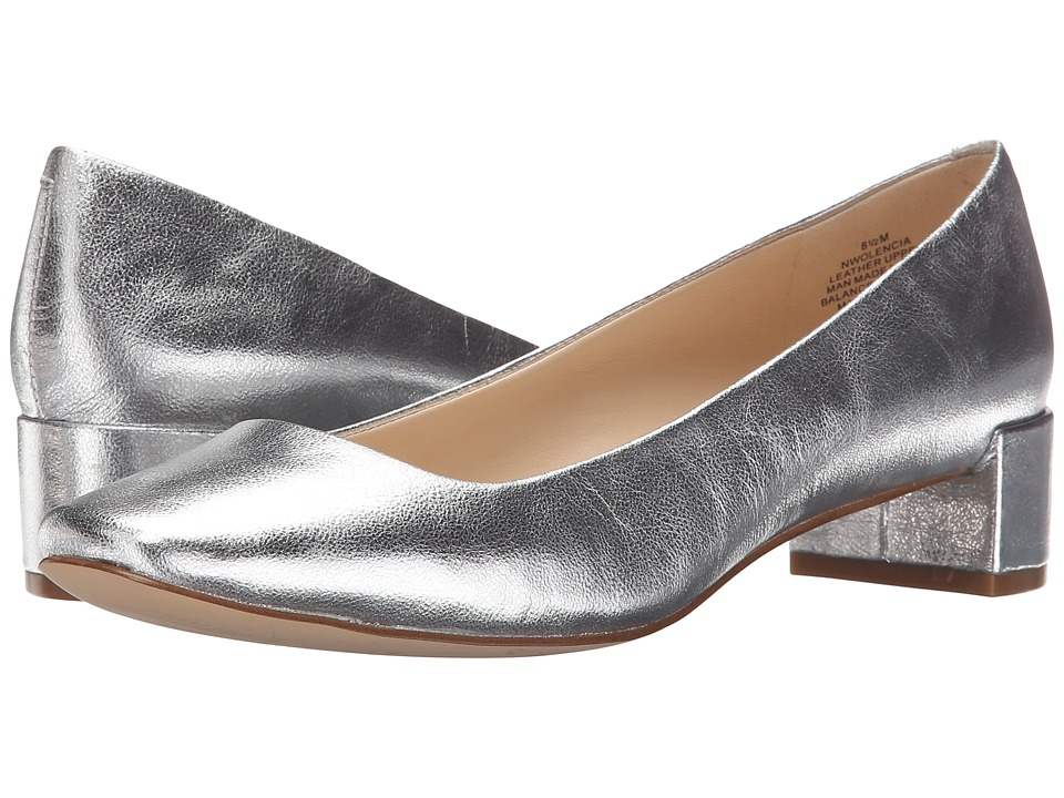 Nine West - Olencia (Silver Metallic) Women's Shoes