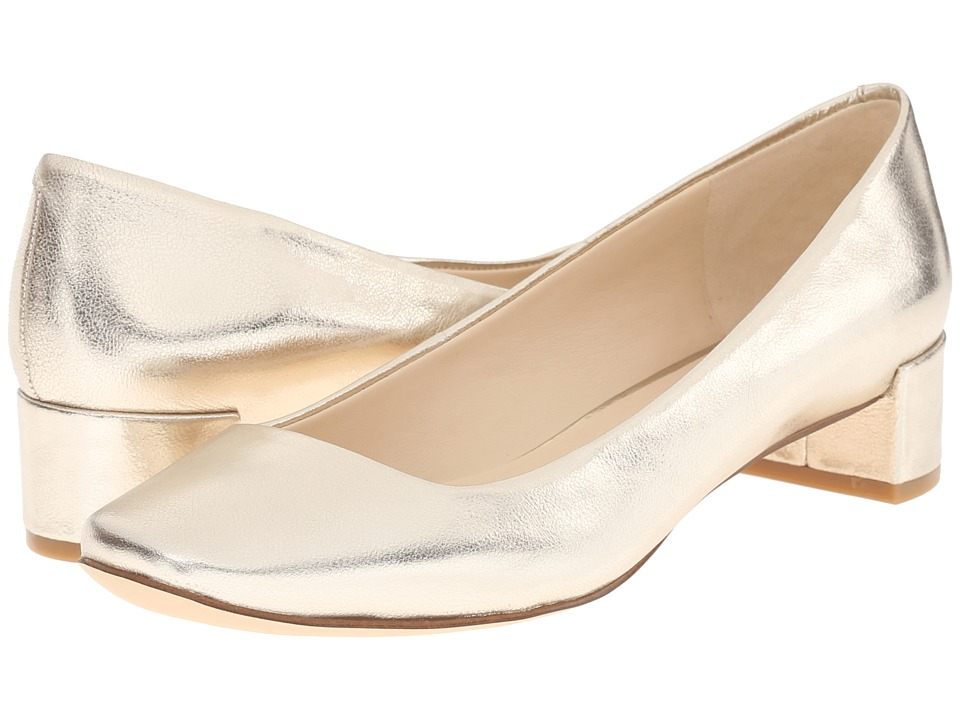 Nine West - Olencia (Light Gold Metallic) Women's Shoes