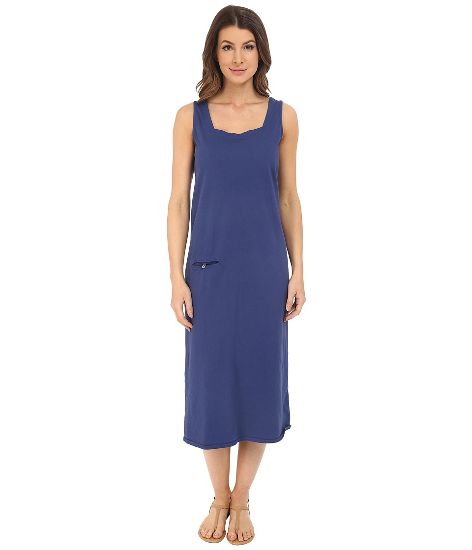 Fresh Produce - Square Neck Long Dress (Moonlight) Women's Dress