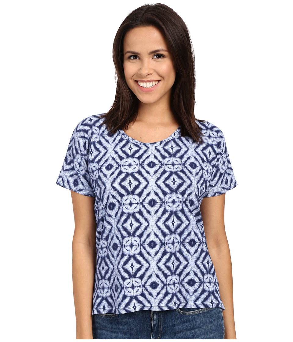 Fresh Produce - Shibori Hannah Tee (Moonlight) Women's T Shirt