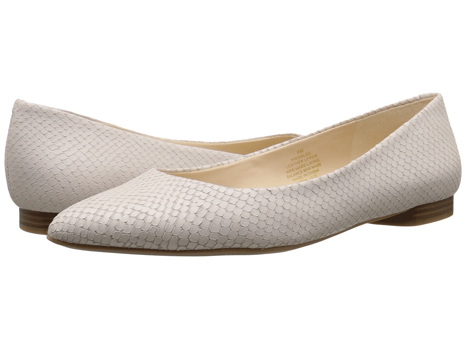 Nine West - Onlee (Off-White Leather) Women's Shoes