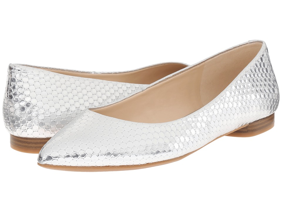 Nine West - Onlee3 (Silver Synthetic) Women's Shoes