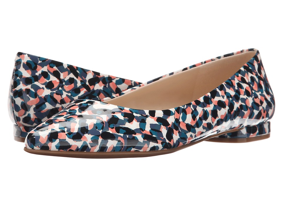 Nine West - Onlee3 (Blue Multi Synthetic) Women's Shoes