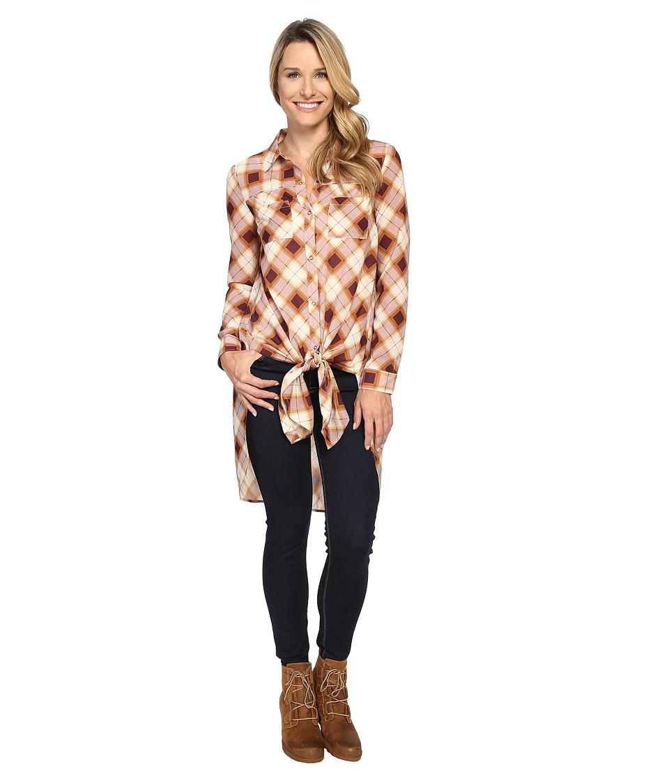Prana - Flint Maxi Top (Dark Umber) Women's Clothing