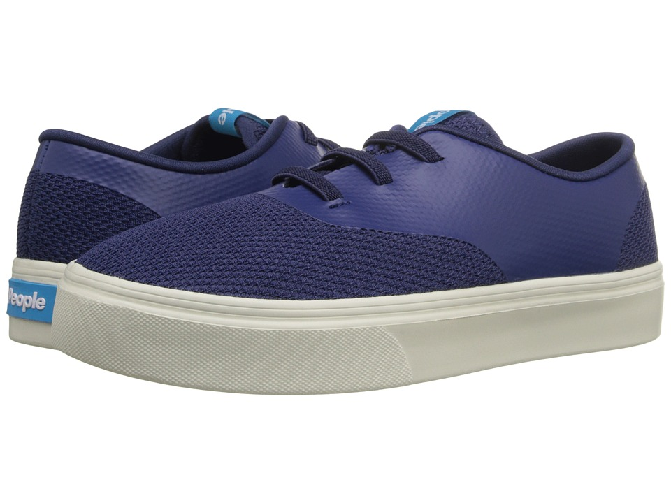People Footwear - Stanley (Little Kid) (Mariner Blue/Picket White) Lace up casual Shoes