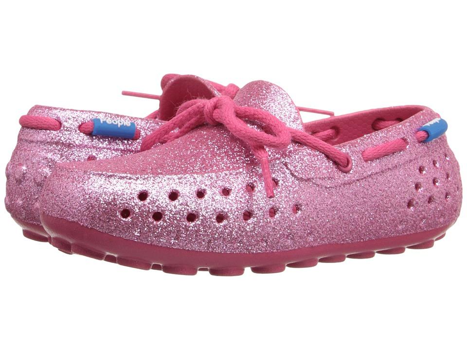 People Footwear - Senna (Toddler/Little Kid) (Playground Pink Sparkles) Women's Flat Shoes