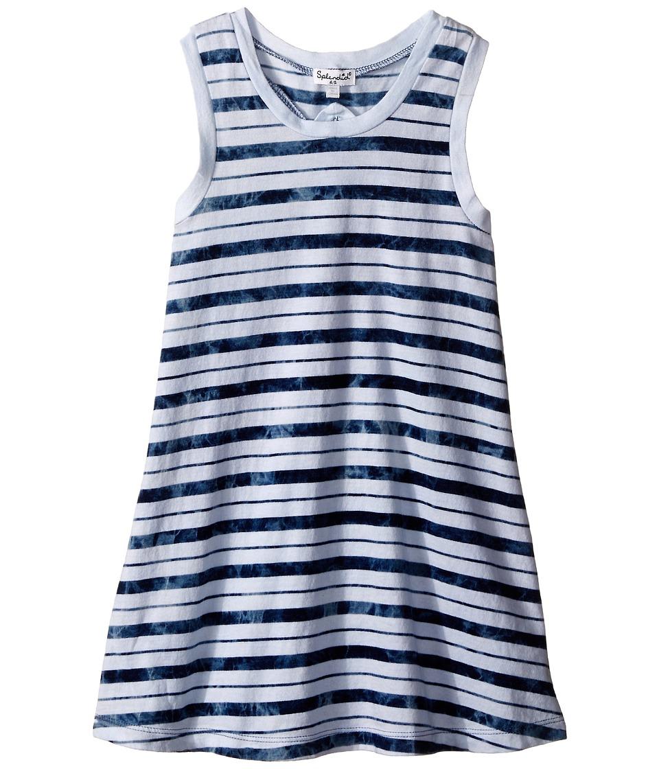 Splendid Littles - Indigo Striped Dye Dress (Little Kids) (Stripe) Girl's Dress