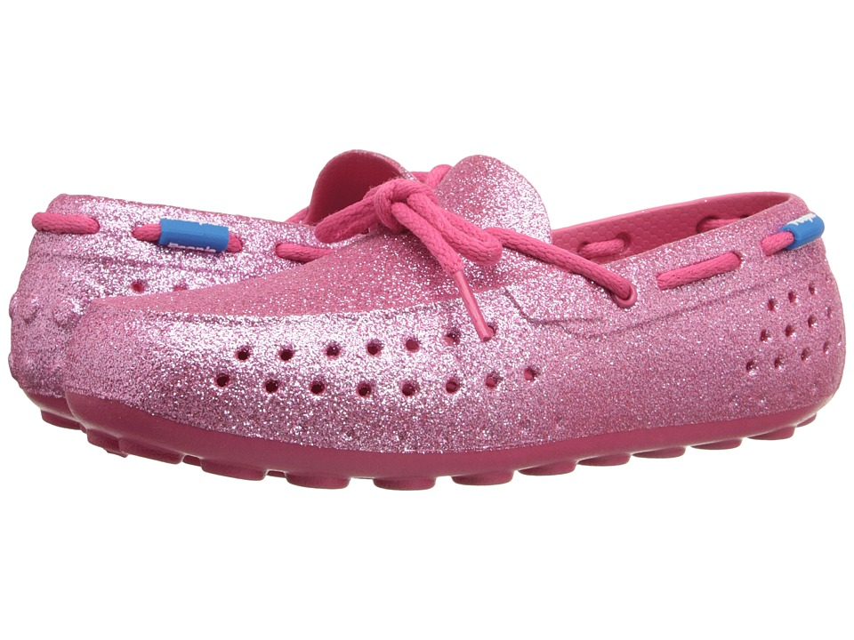 People Footwear - Senna (Little Kid) (Playground Pink Sparkles) Women's Flat Shoes