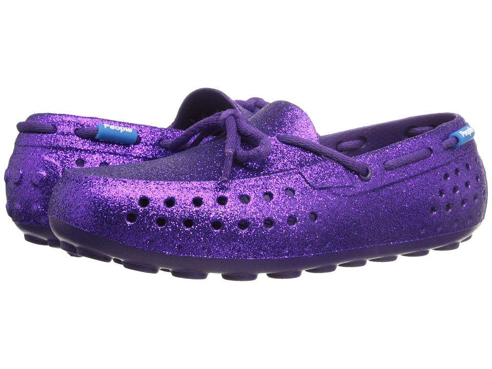 People Footwear - Senna (Little Kid) (Crown Purple Sparkles) Women's Flat Shoes