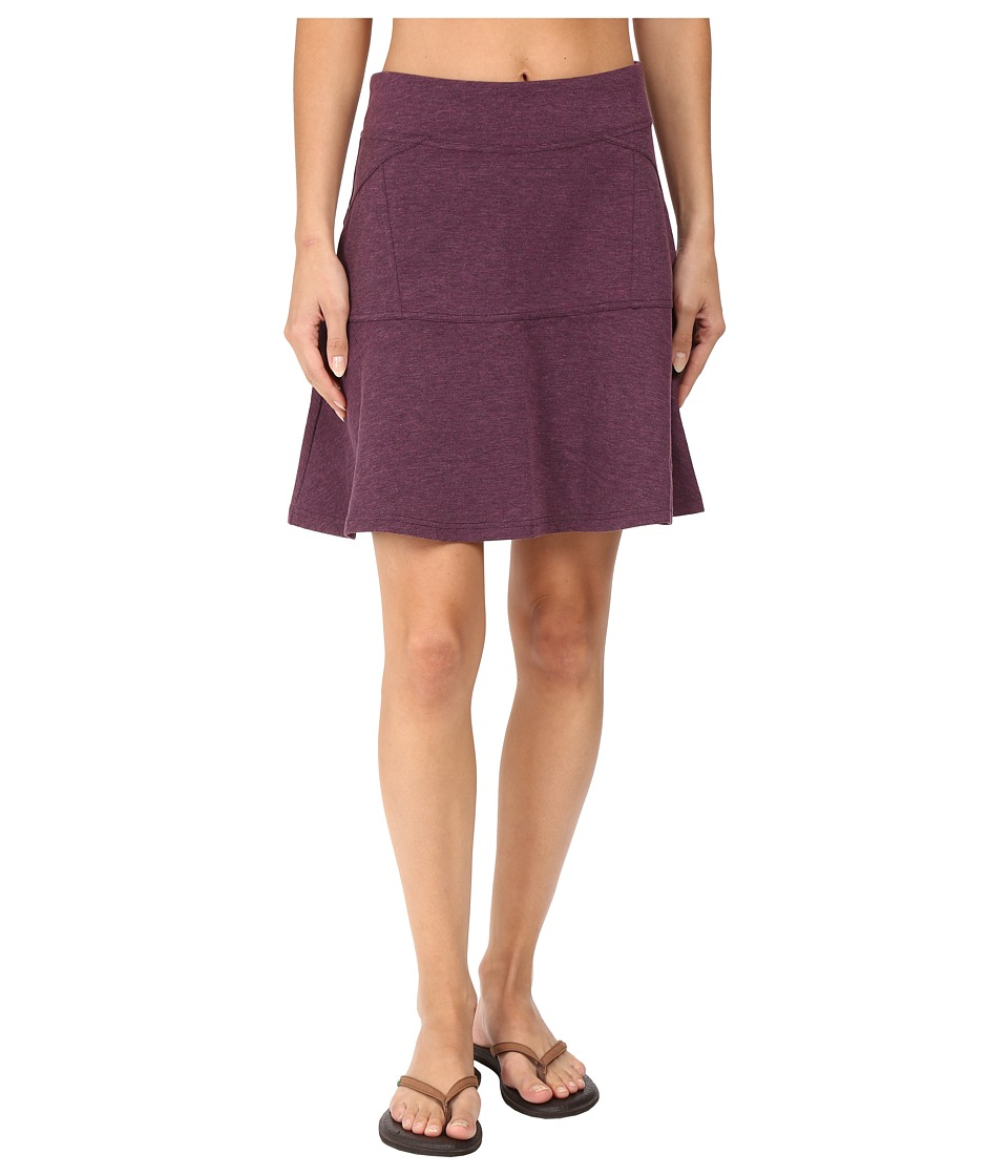 Prana - Gianna Skirt (Wine) Women's Skirt