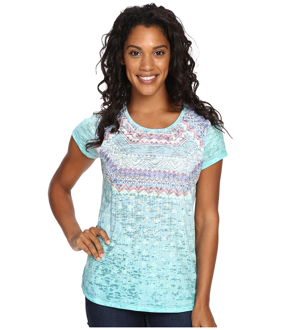 Prana - Sansana Top (Green) Women's Clothing