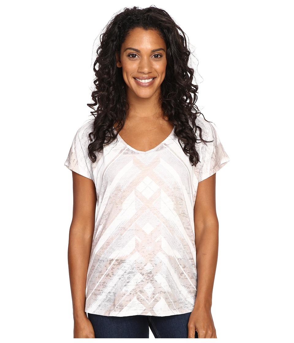 Prana Tabitha Top (Stone) Women's Blouse
