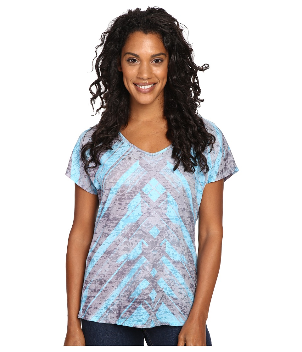 Prana Tabitha Top (Vintage Blue) Women's Blouse