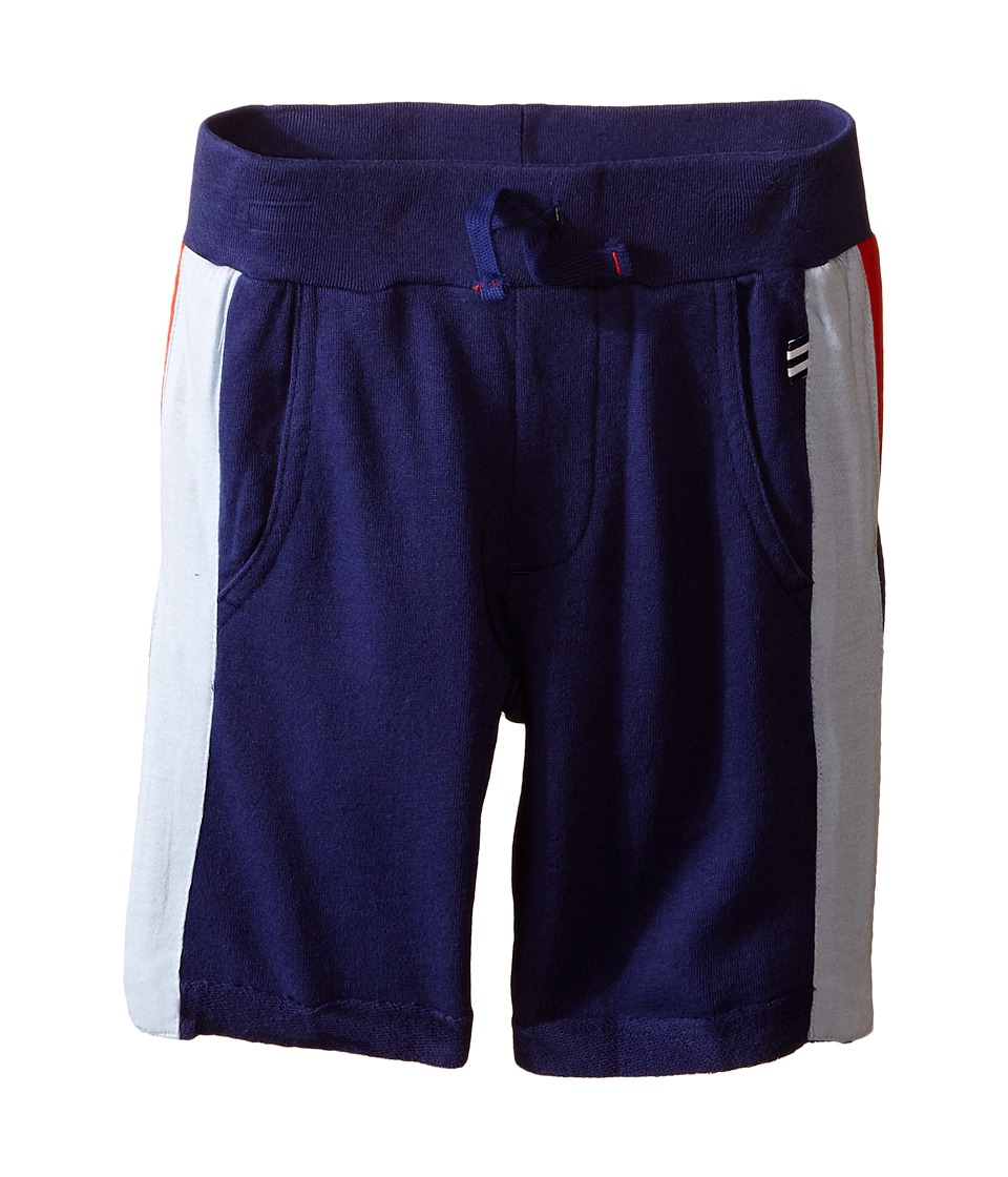 Splendid Littles - Active Shorts (Toddler) (Navy) Boy's Shorts