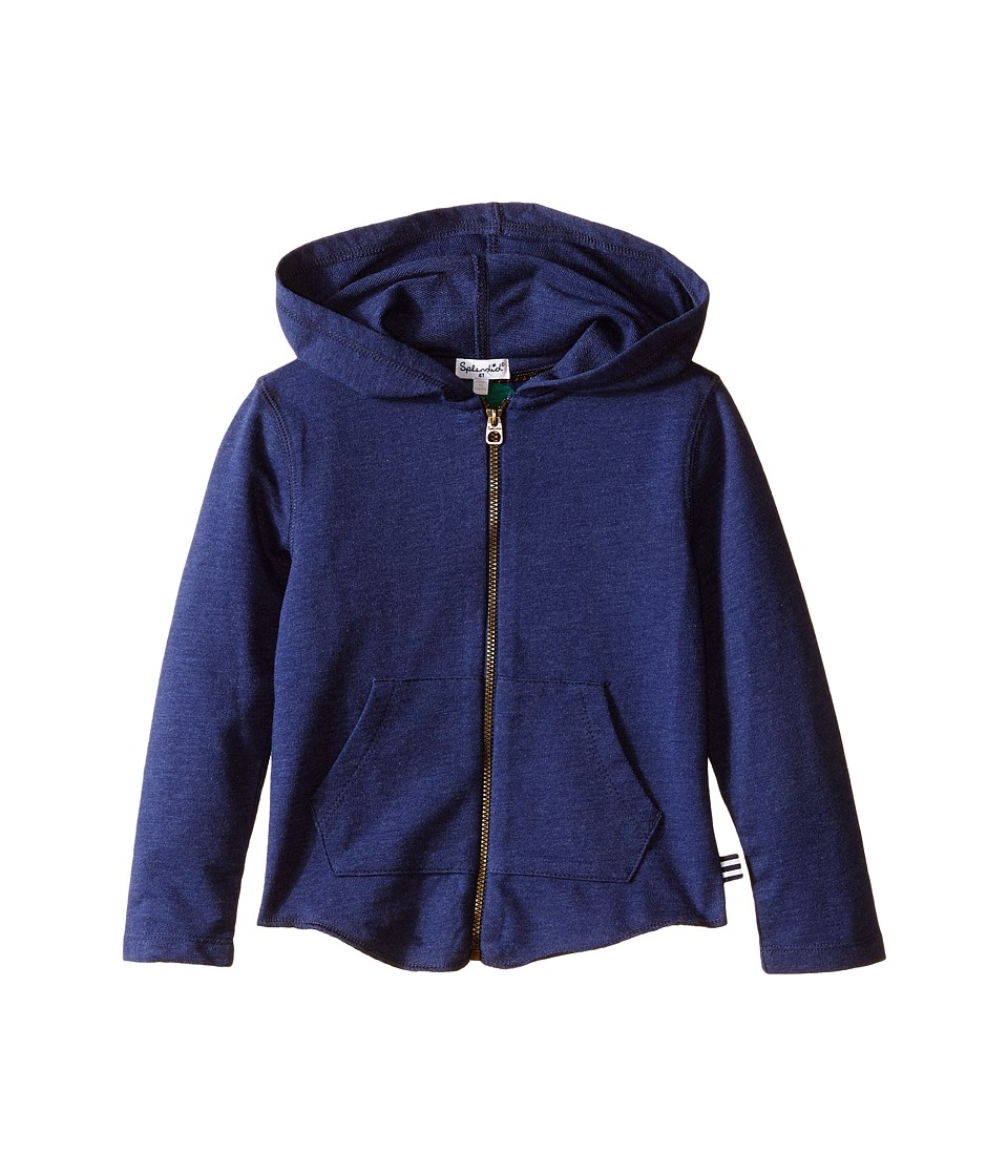 Splendid Littles - Zip Front Hoodie (Toddler) (Navy) Boy's Sweatshirt