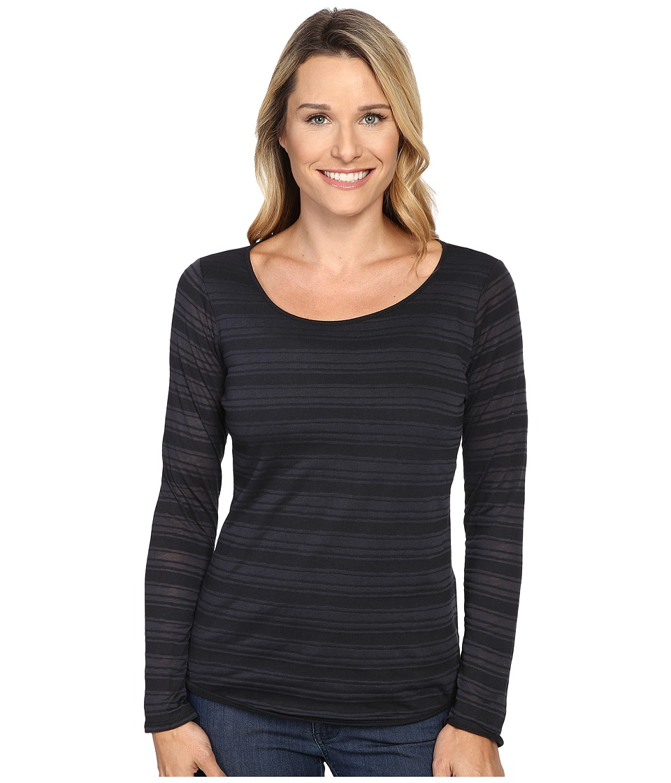 Prana - Anelia Top (Black) Women's Clothing