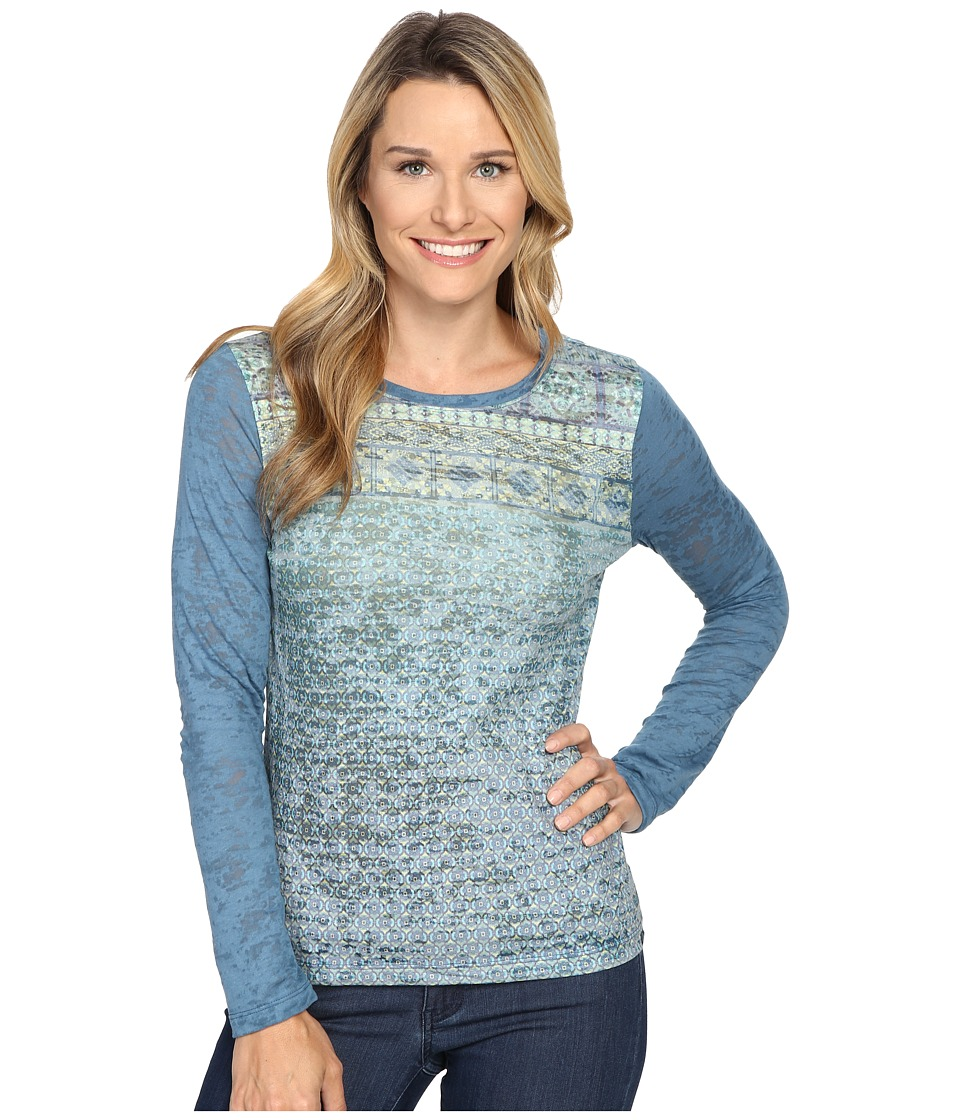 Prana - Lottie Top (Harbor Blue) Women's Long Sleeve Pullover