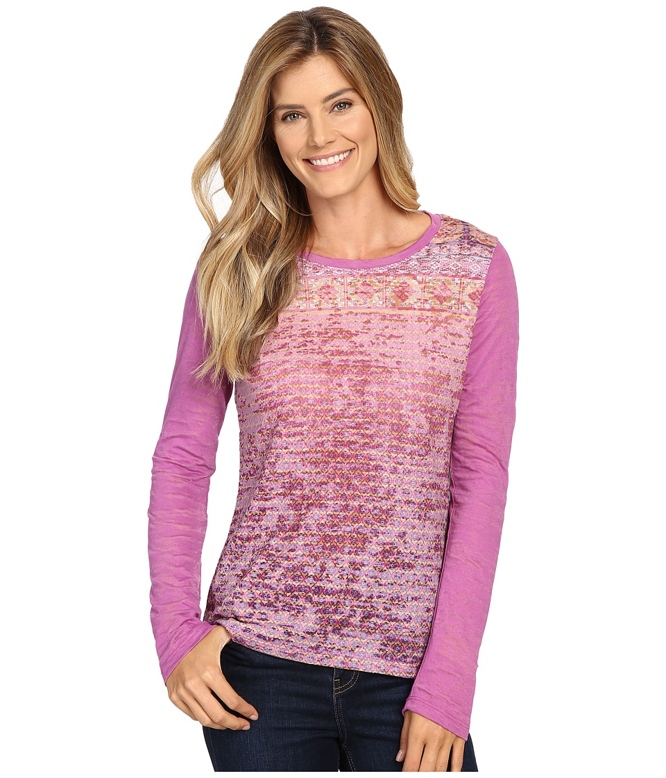 Prana - Lottie Top (Vivid Viola) Women's Long Sleeve Pullover