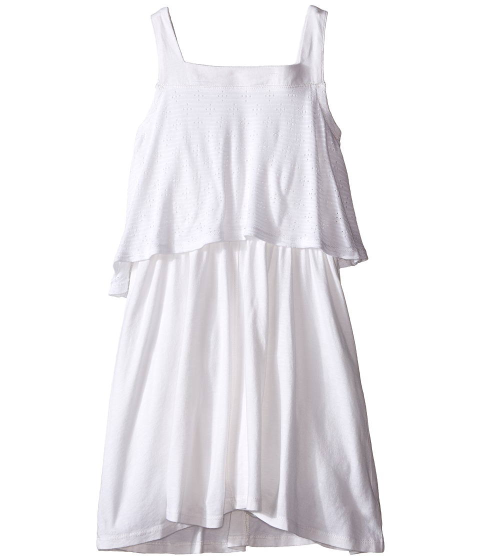 Splendid Littles - Tank Eyelet Dress (Little Kids) (White) Girl's Dress
