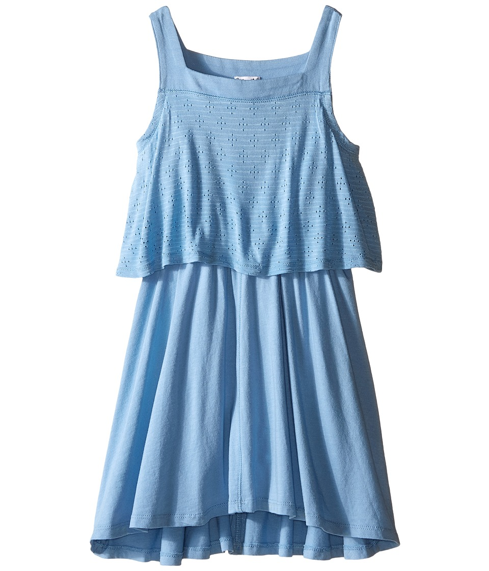 Splendid Littles - Tank Eyelet Dress (Little Kids) (Blue) Girl's Dress