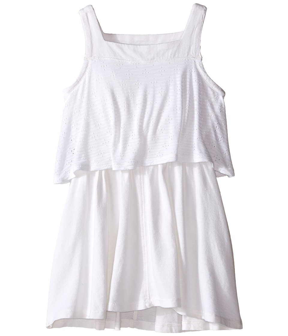 Splendid Littles - Tank Eyelet Dress (Toddler) (White) Girl's Dress