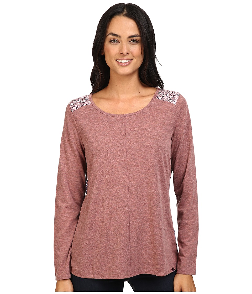 Prana - Jivani Top (Deep Marsala) Women's Clothing