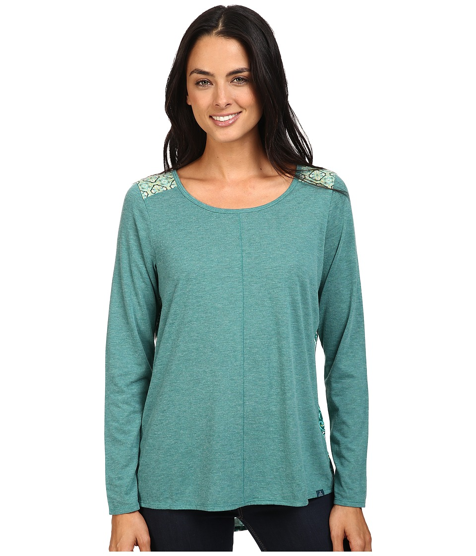 Prana - Jivani Top (Harbor Blue) Women's Clothing