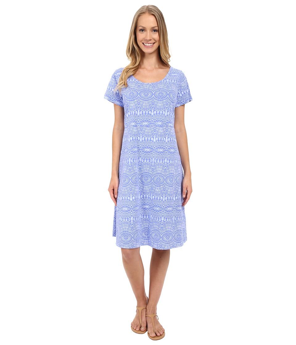 Fresh Produce - Tribal Sadie Dress (Periwinkle) Women's Dress