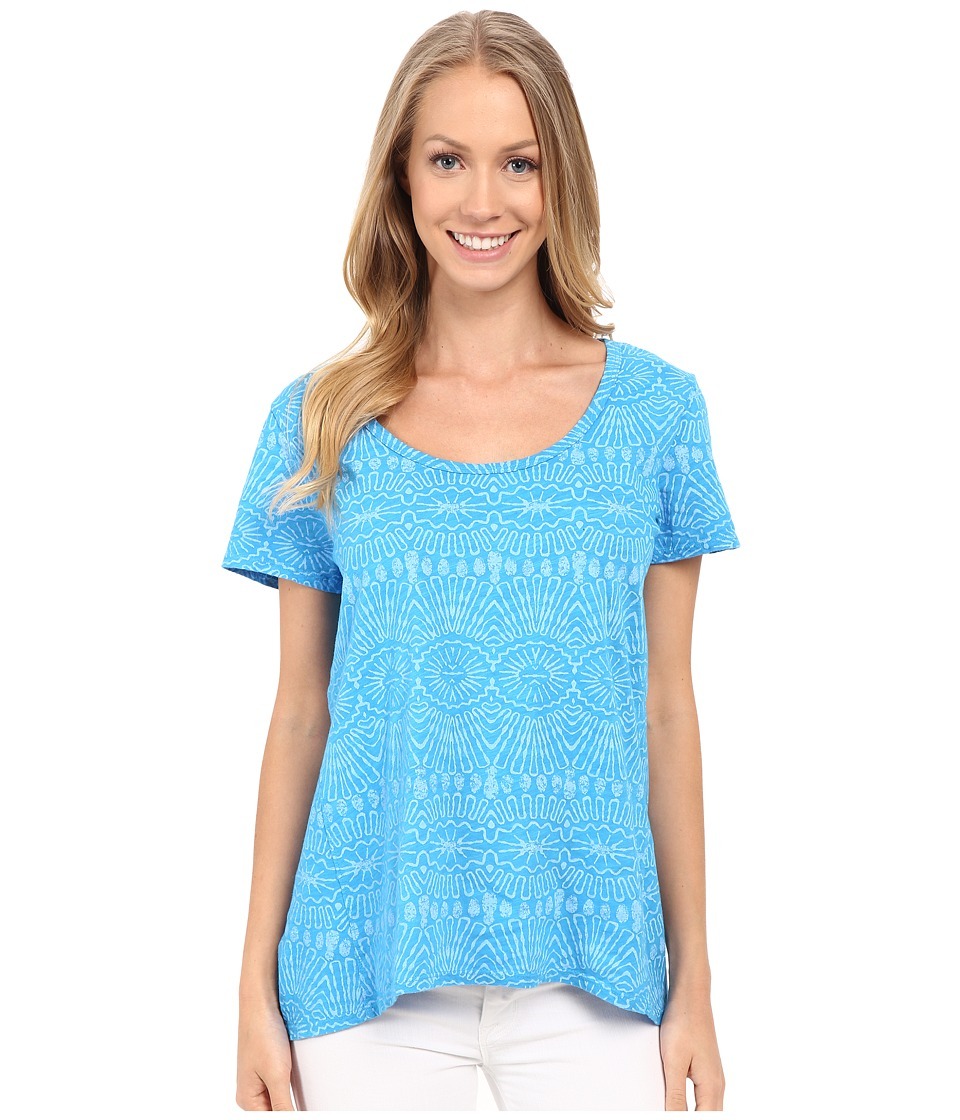 Fresh Produce - Tribal Luna Top (Marina) Women's Clothing