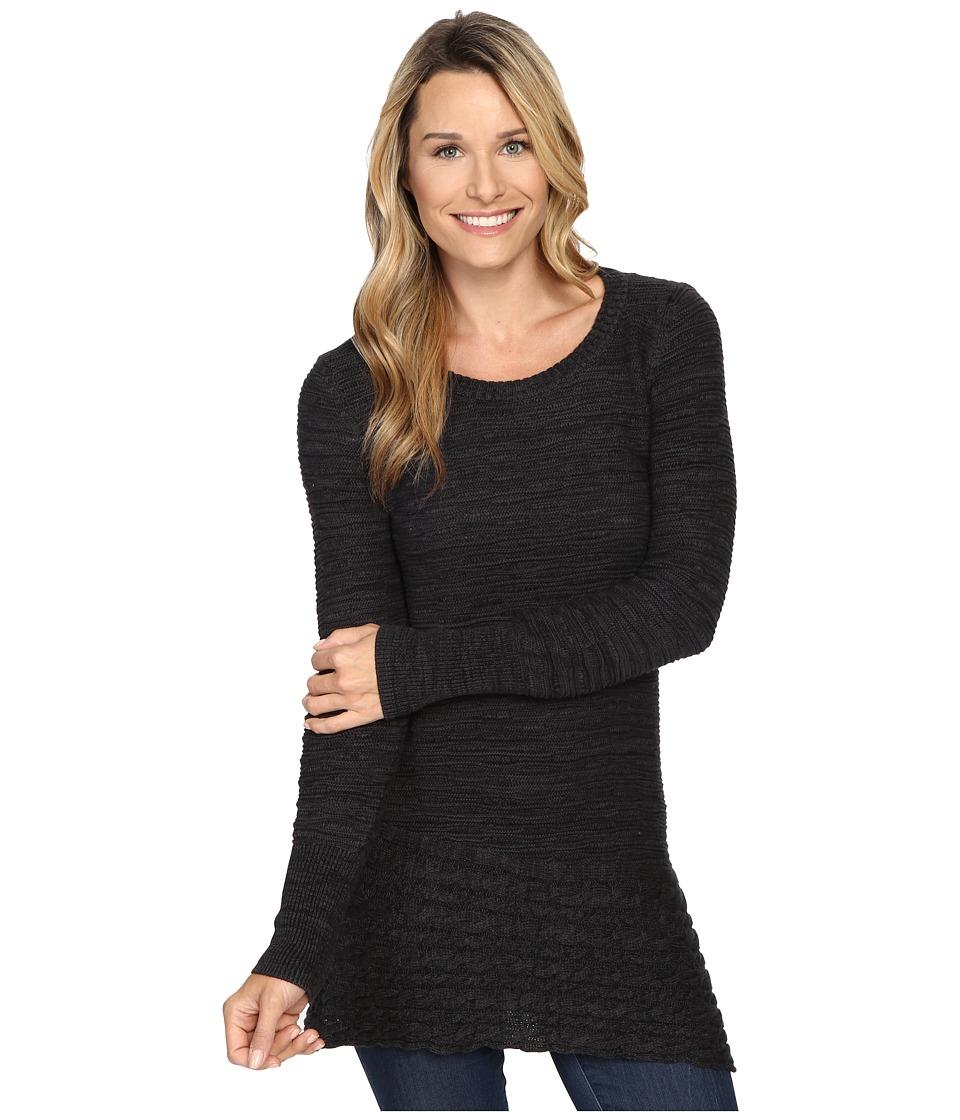 Prana - Felicia Tunic Sweater (Coal) Women's Sweater