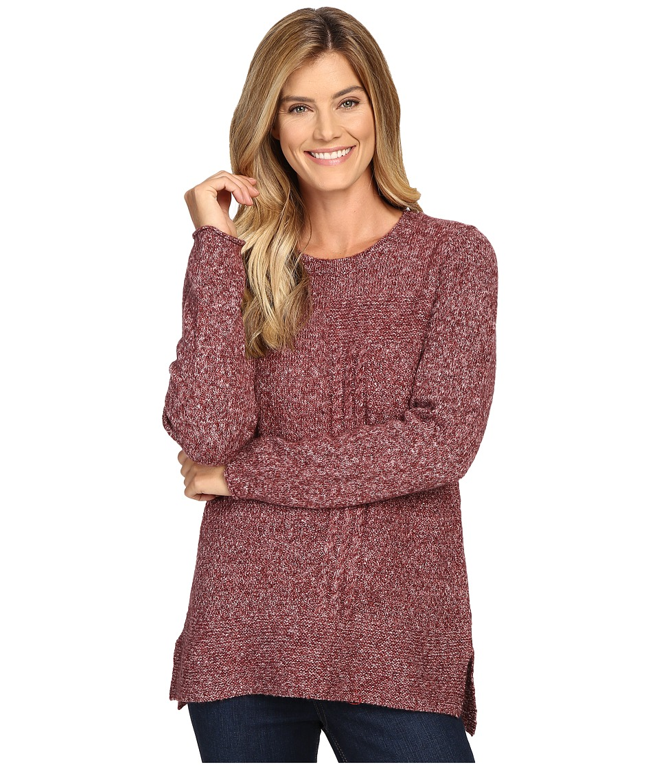 Prana - Nolan Tunic Sweater (Burgundy) Women's Sweater