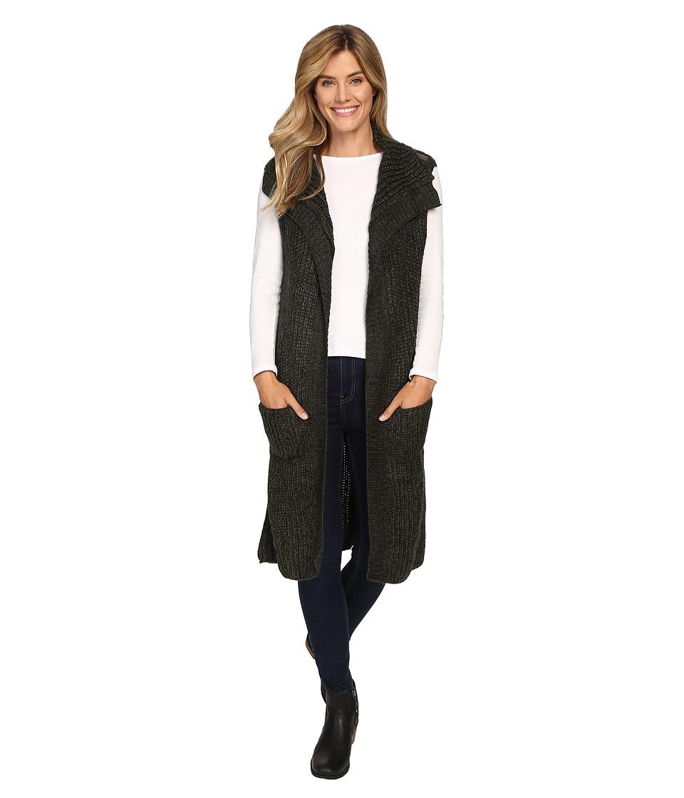 Prana - Thalia Sweater Vest (Cargo Green) Women's Vest