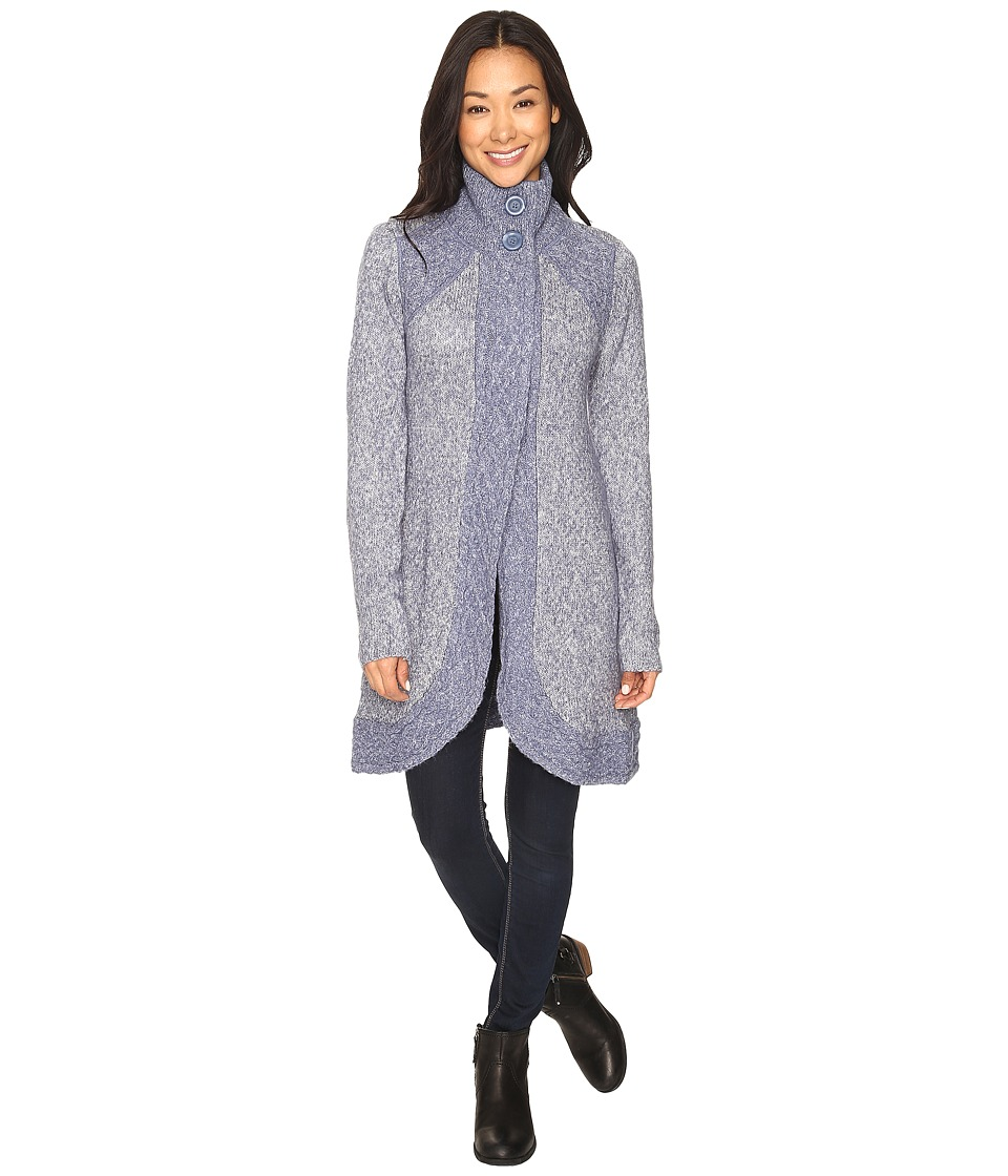 Prana - Angelica Duster (Gray Indigo) Women's Sweater