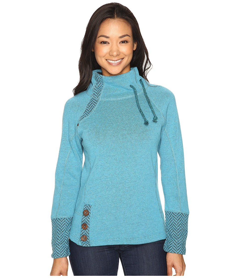 Prana - Lucia Sweater (Harbor Blue) Women's Sweater