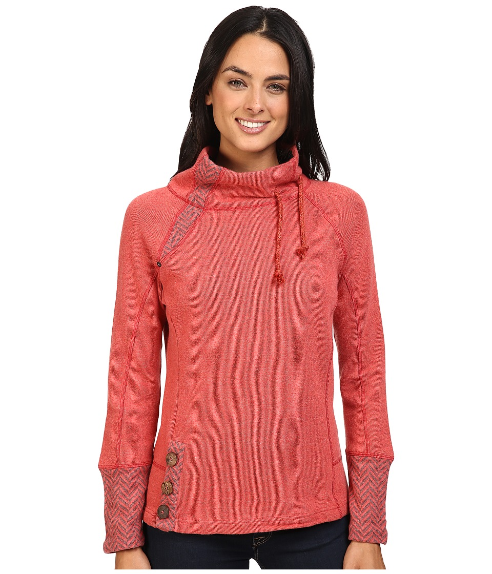 Prana - Lucia Sweater (Sunwashed Red) Women's Sweater