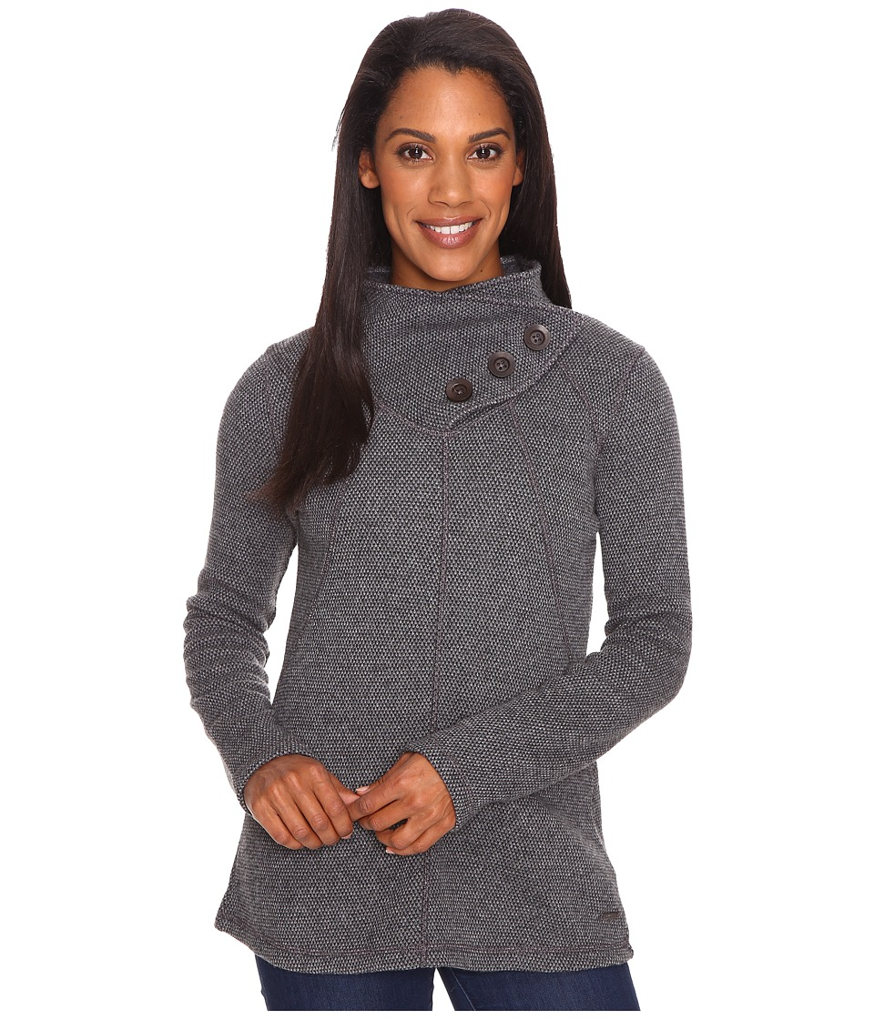 Prana - Ebba Tunic Sweater (Coal) Women's Sweater
