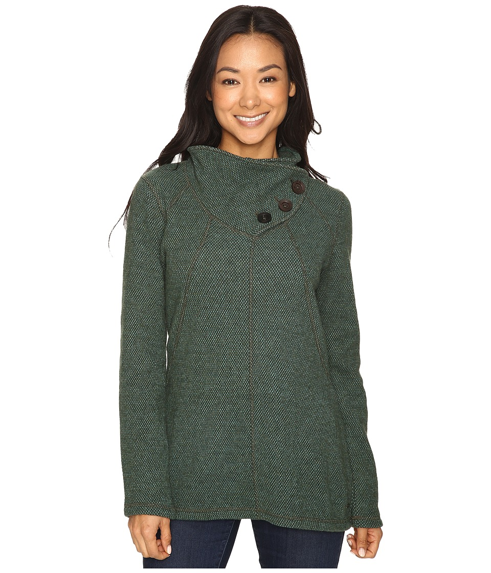 Prana - Ebba Tunic Sweater (Dark Olive) Women's Sweater