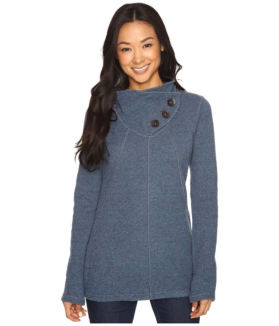 Prana - Ebba Tunic Sweater (Gray Indigo) Women's Sweater