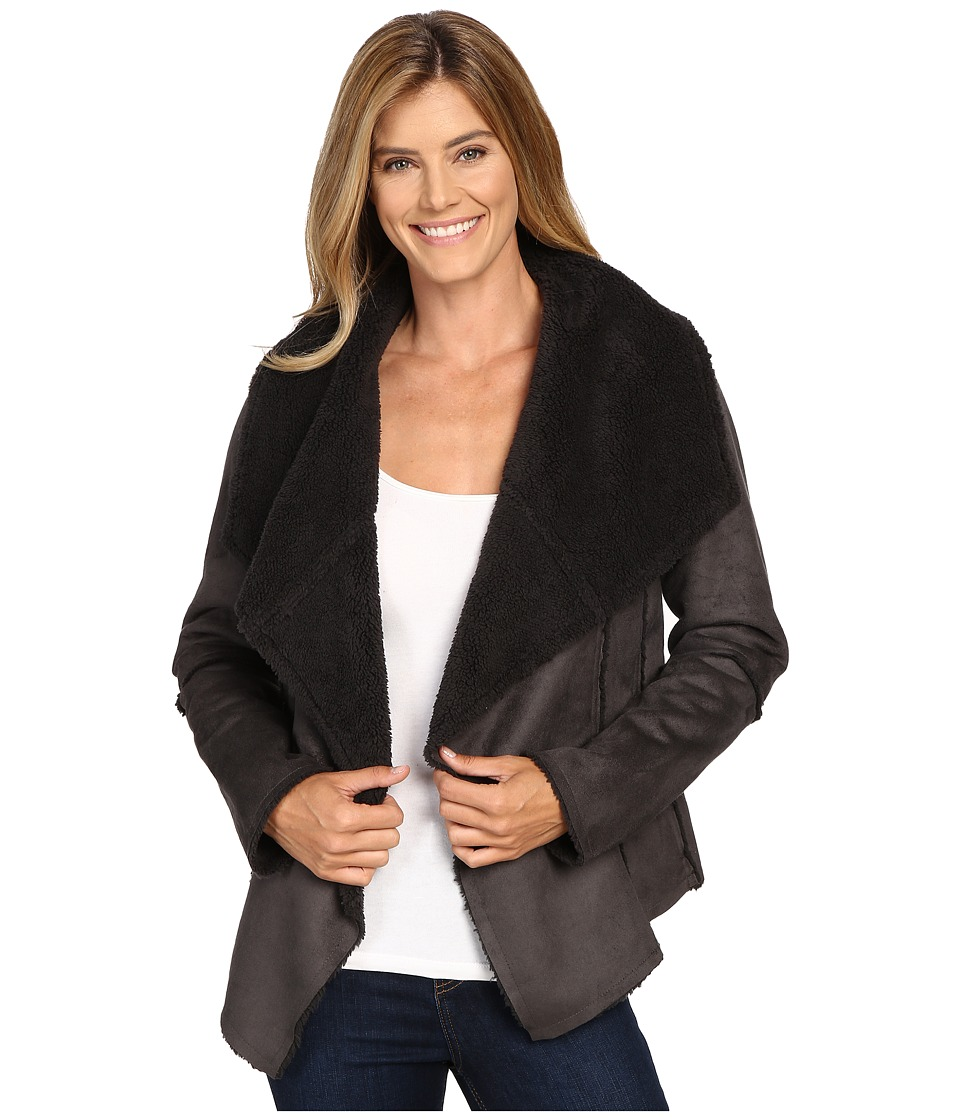 Prana - Townie Coat (Charcoal) Women's Coat
