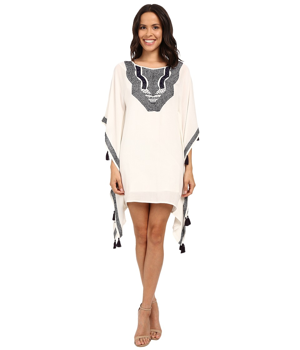 Trina Turk Luella Kaftan Dress (Whitewash/Pisces) Women