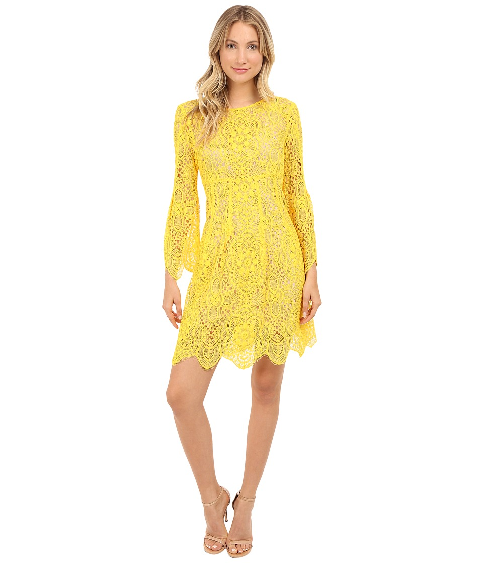 Trina Turk Lyn Dress (Leo Yellow) Women
