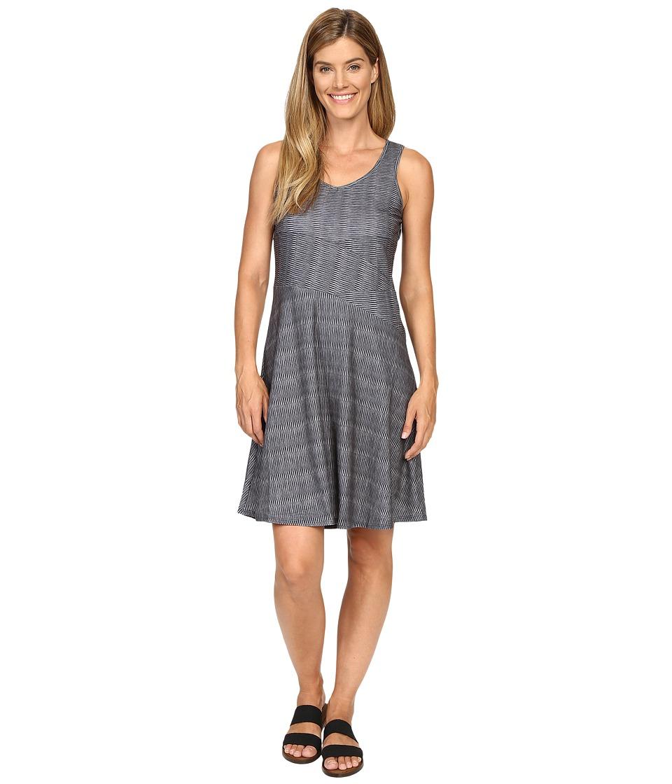 Prana - Amelie Dress (Charcoal Ziggie) Women's Dress