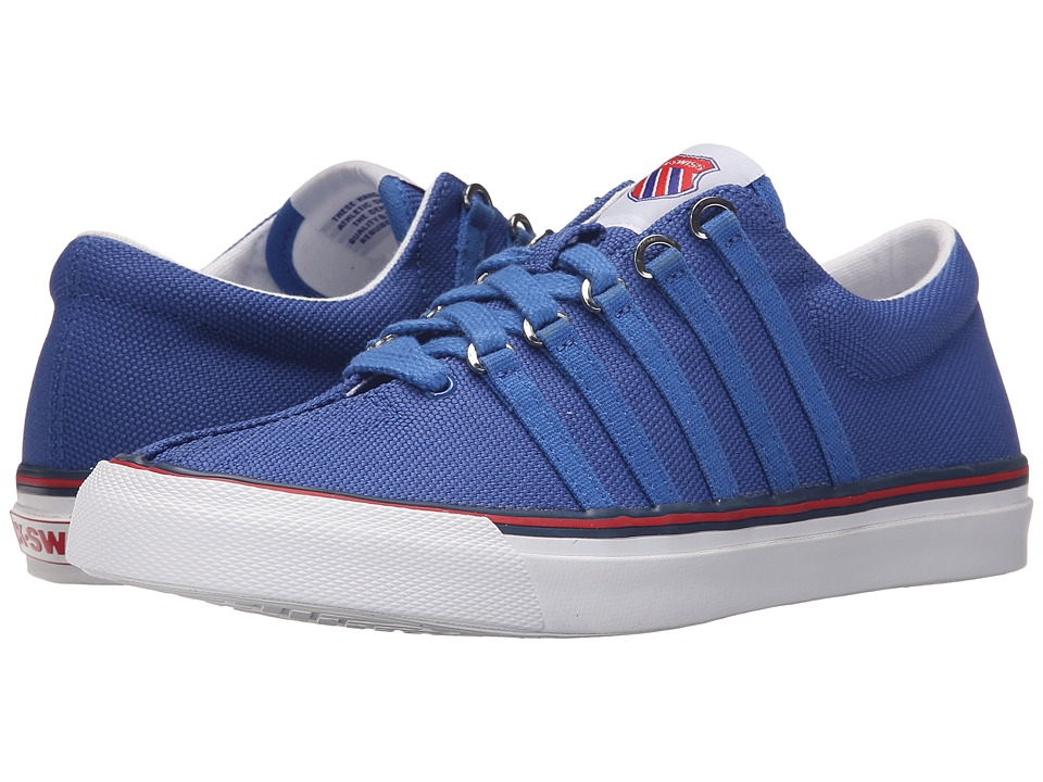 K-Swiss - Surf 'n Turf OG (Classic Blue/Ribbon Red/White Canvas) Women's Tennis Shoes