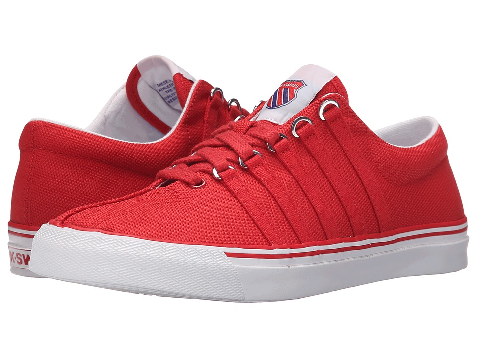 K-Swiss - Surf 'n Turf OG (Ribbon Red/Classic Blue/White Canvas) Women's Tennis Shoes